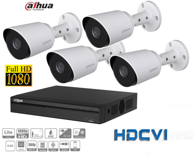 £692 hdcvi Package - Supplied and installed with 12 months warranty.