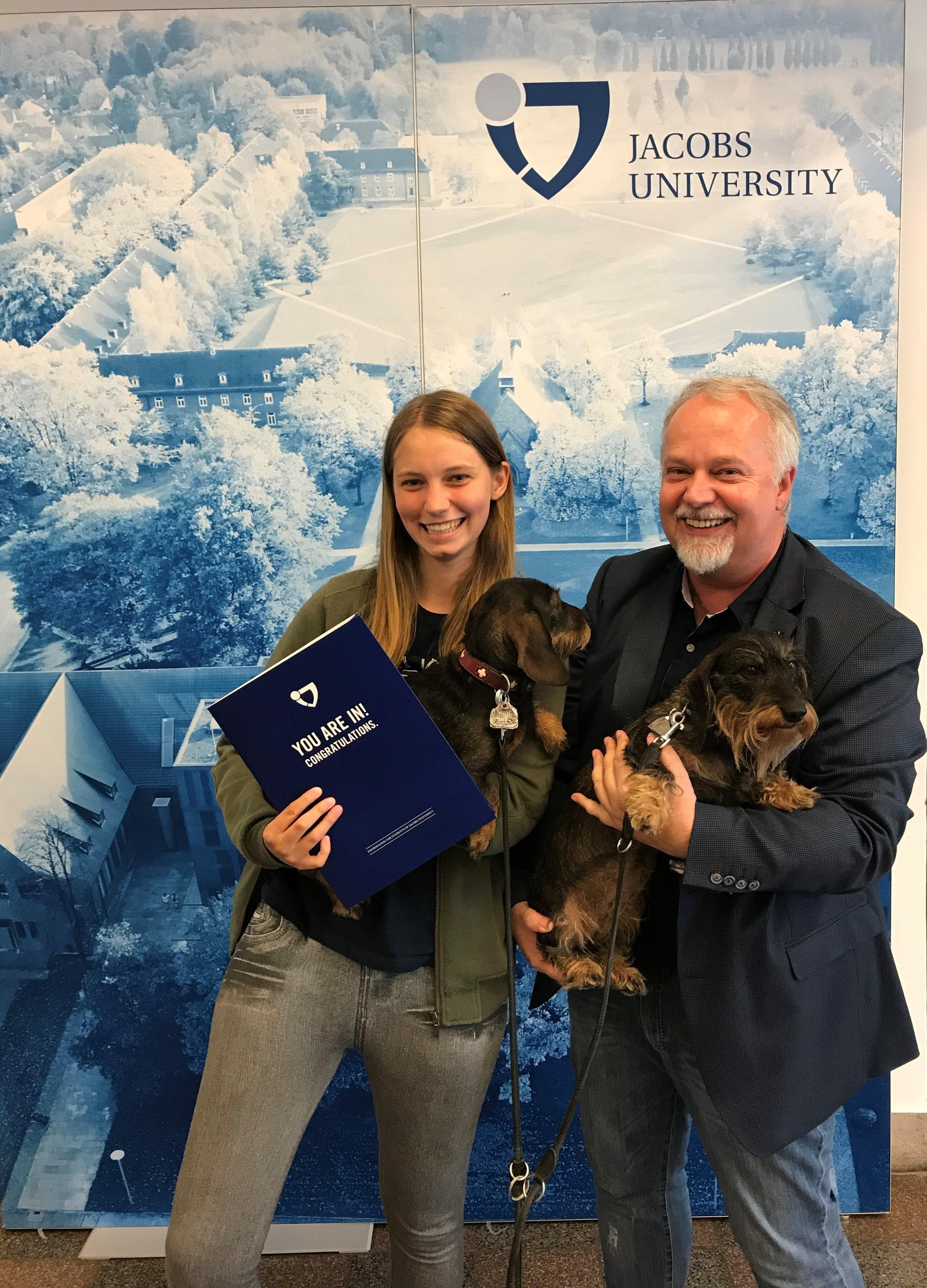 Dean Arvid Kappas, Zulassungstag 2019 participant and pets