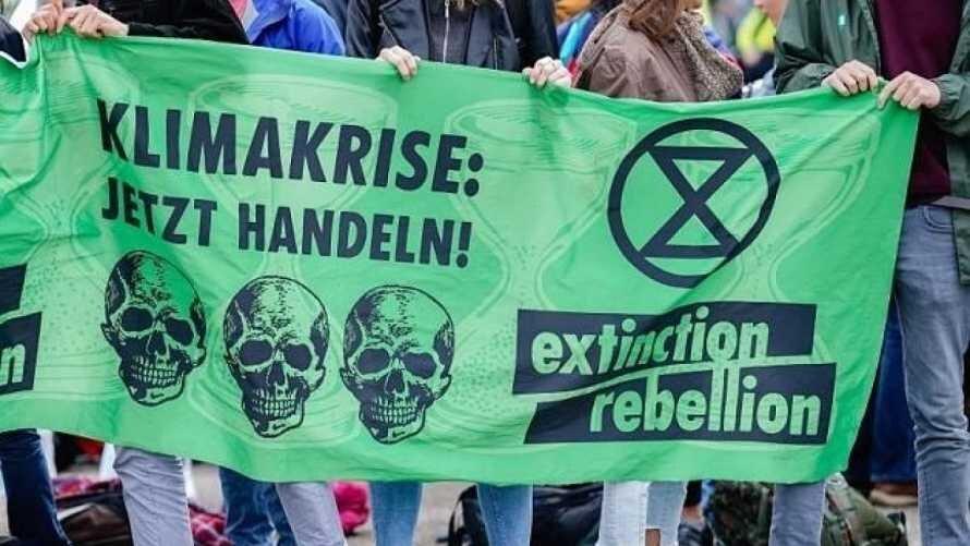 Extinction Rebellion protestors in Berlin | October 2019