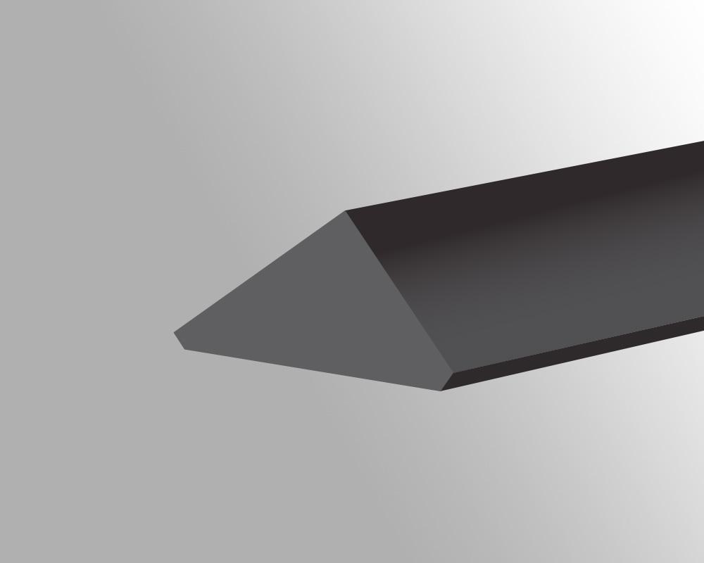 Triangle Wedge flat top - A1 -