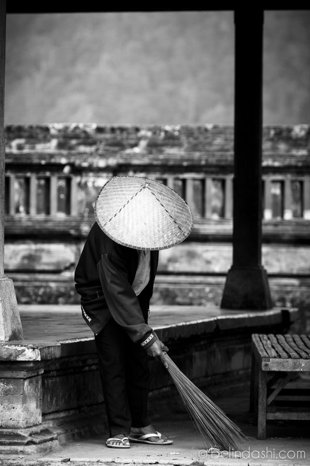 Balinese temple · Moment of peace
