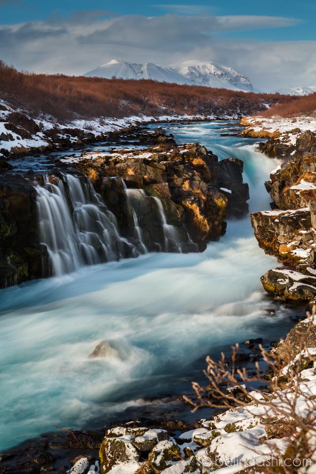 Hlaupstungafoss Iceland