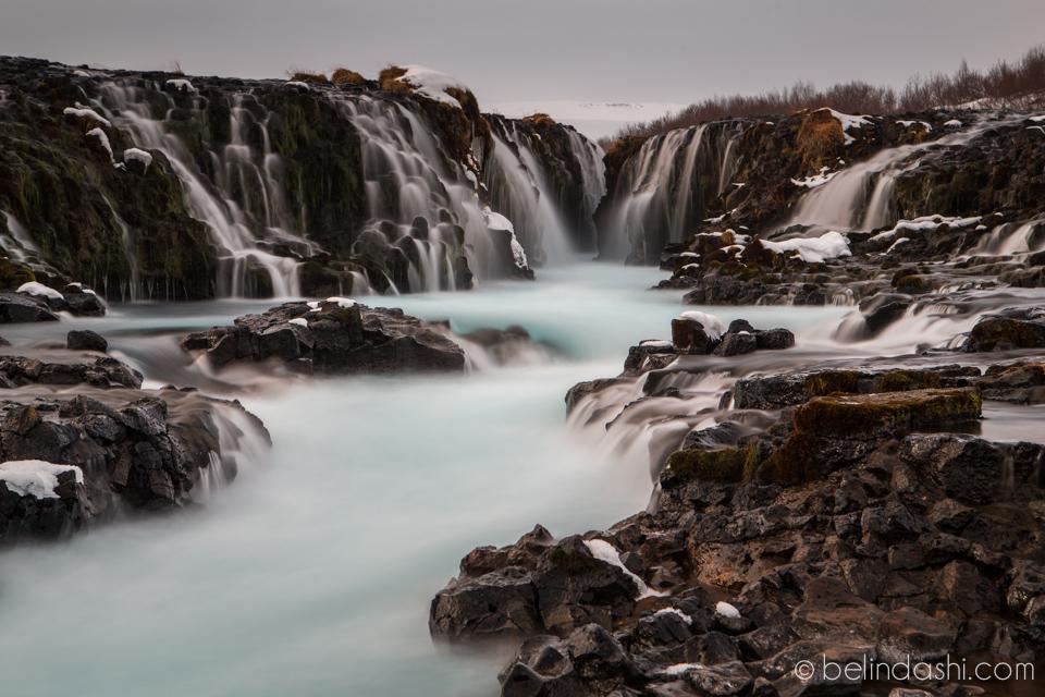 Bruarfoss Iceland