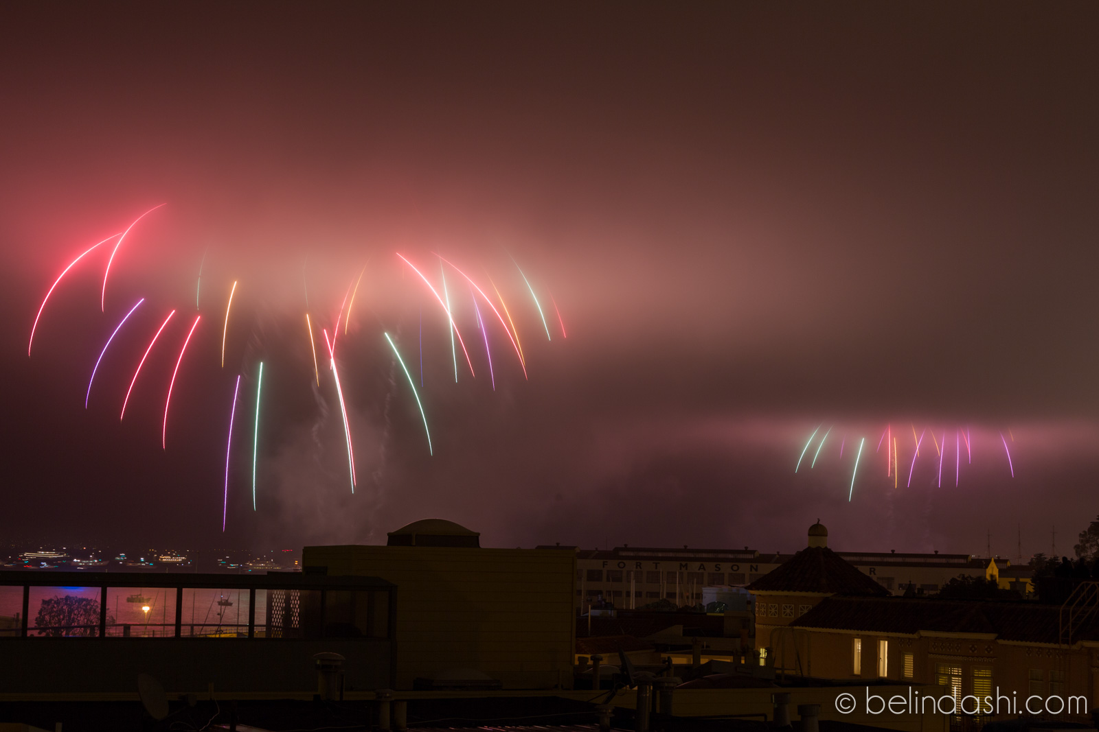 July 4th fireworks in San Francisco 2014-008, ISO200, 70mm, f/9, 5.3sec