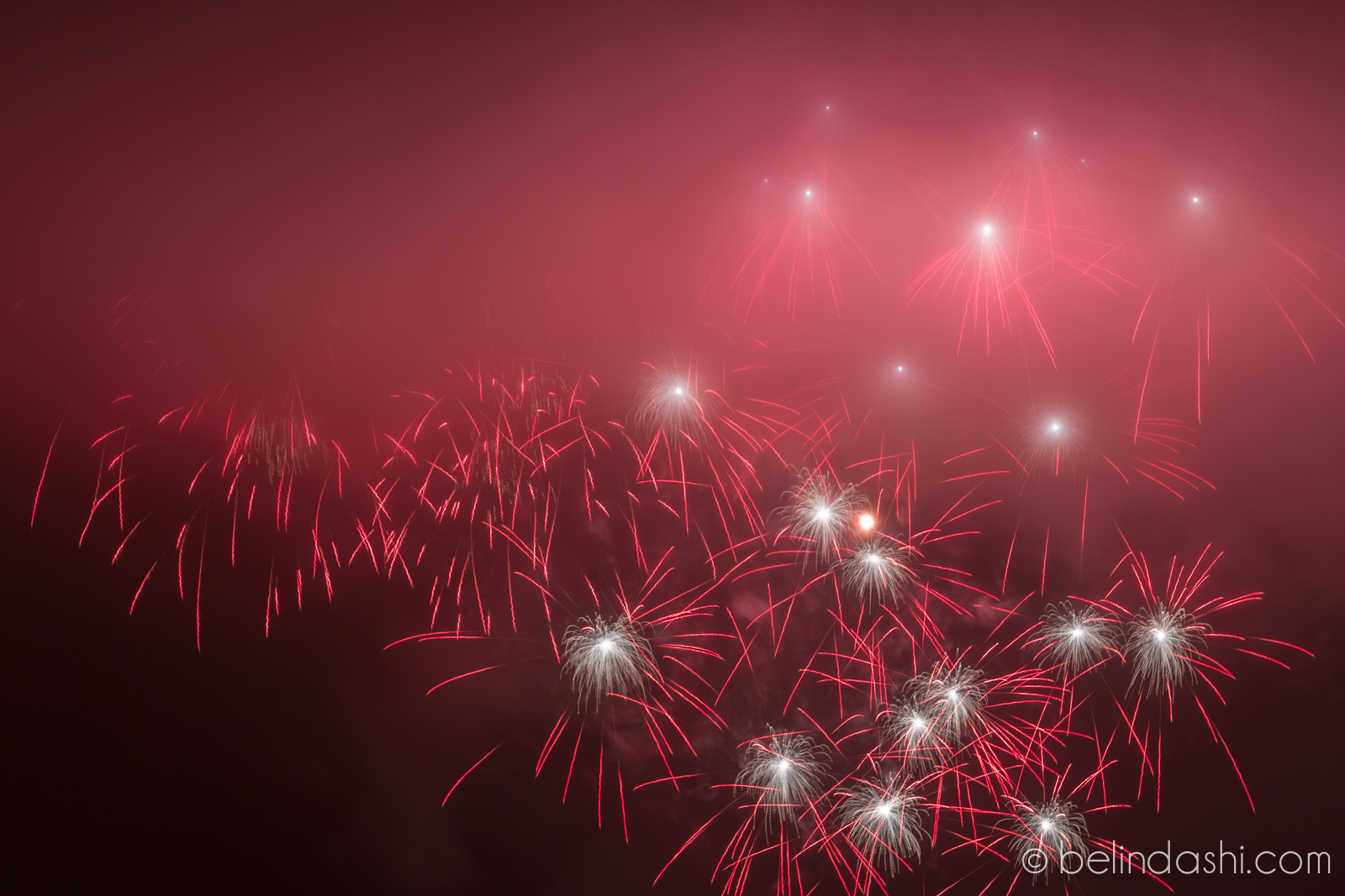 July 4th fireworks in San Francisco 2014-010, ISO200, 148mm, f/9, 5sec
