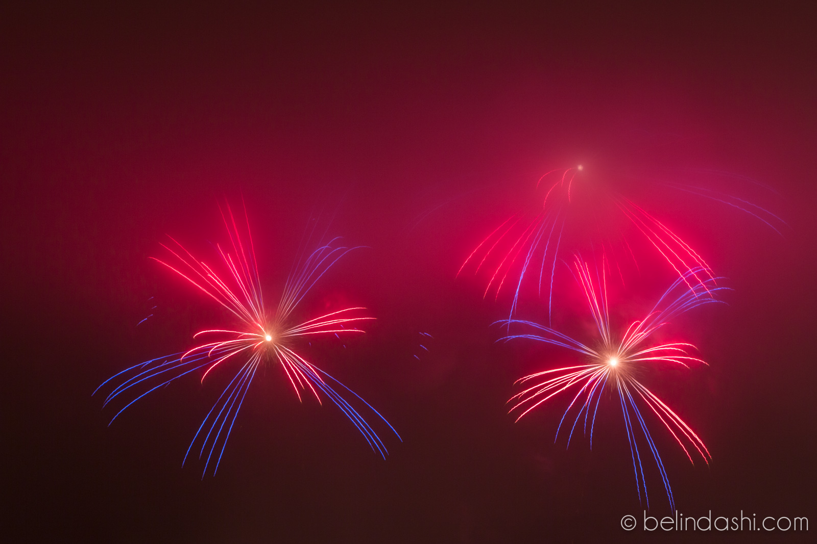 July 4th fireworks in San Francisco 2014-011, ISO200, 148mm, f/9, 8sec