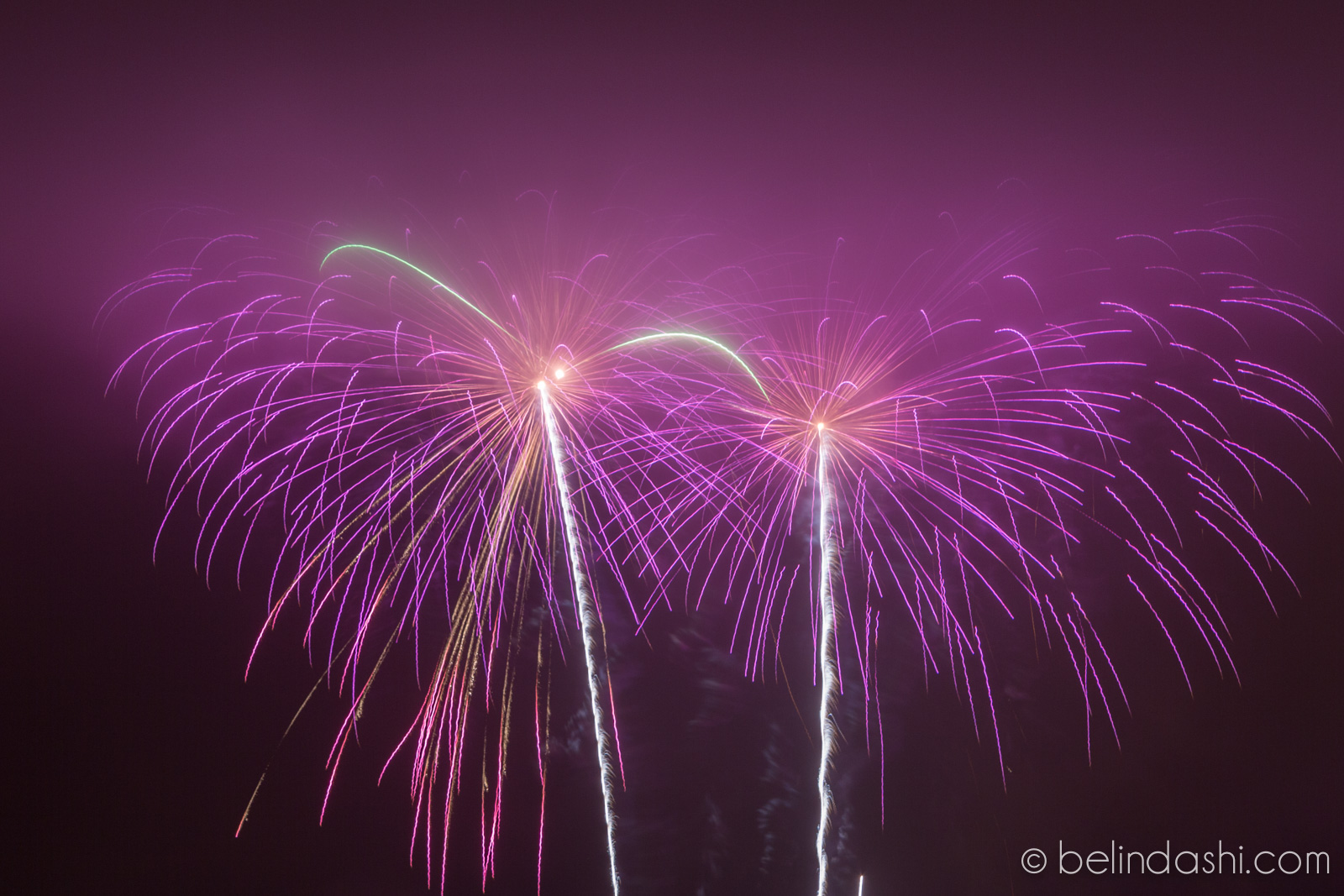 July 4th fireworks in San Francisco 2014-012, ISO200, 148mm, f/9, 4.2sec