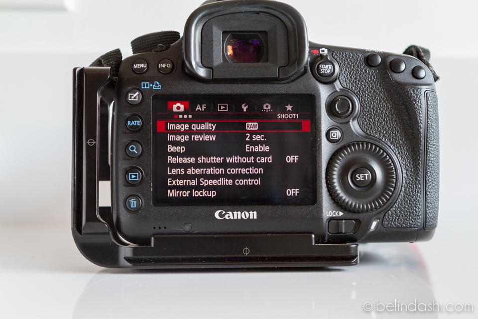 Canon 5D MarkIII Default Setting 3