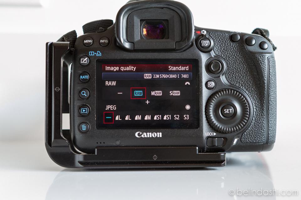 Canon 5D MarkIII Default Setting 4