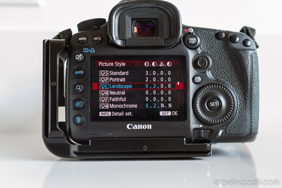 Canon 5D MarkIII Default Setting 6