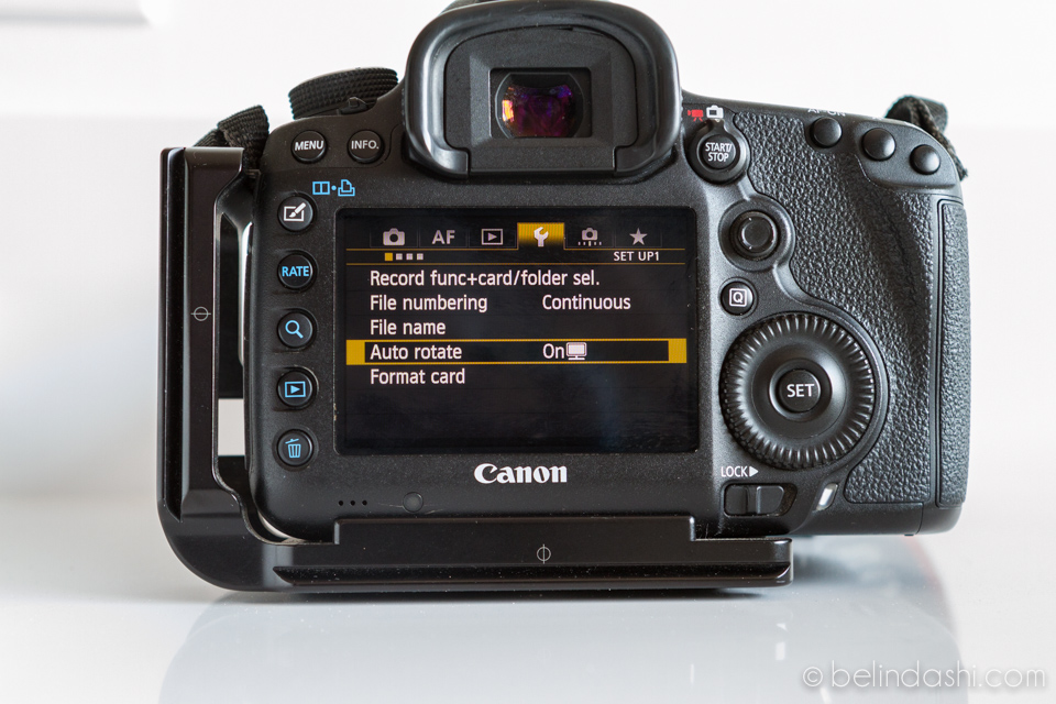 Canon 5D MarkIII Default Setting 8