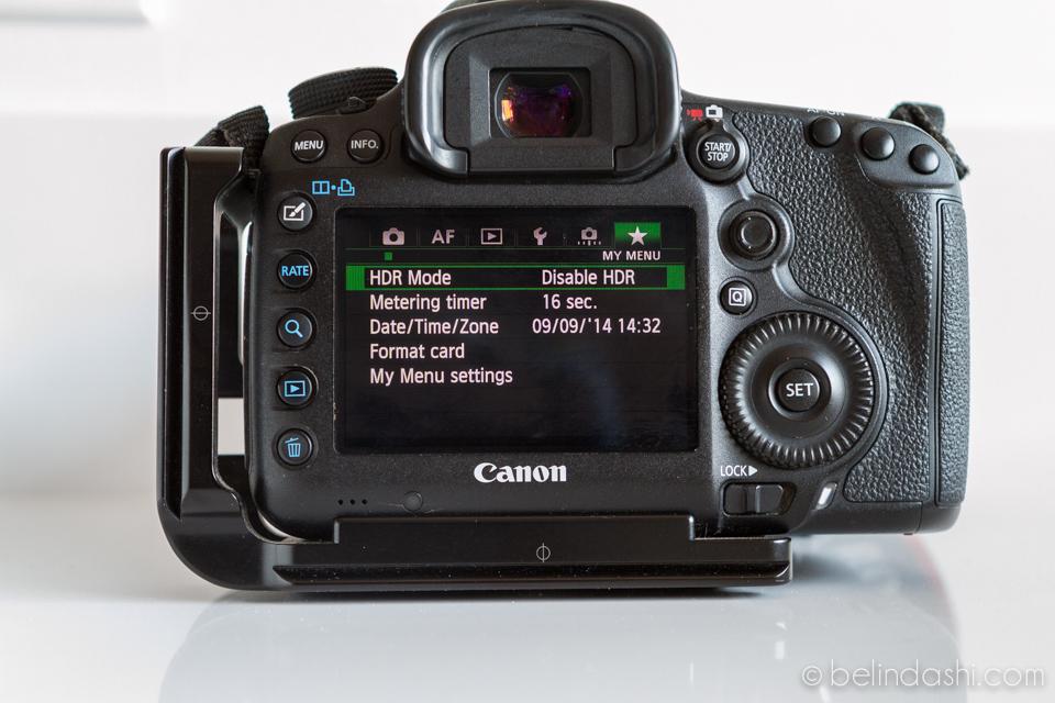 Canon 5D MarkIII Default Setting 14