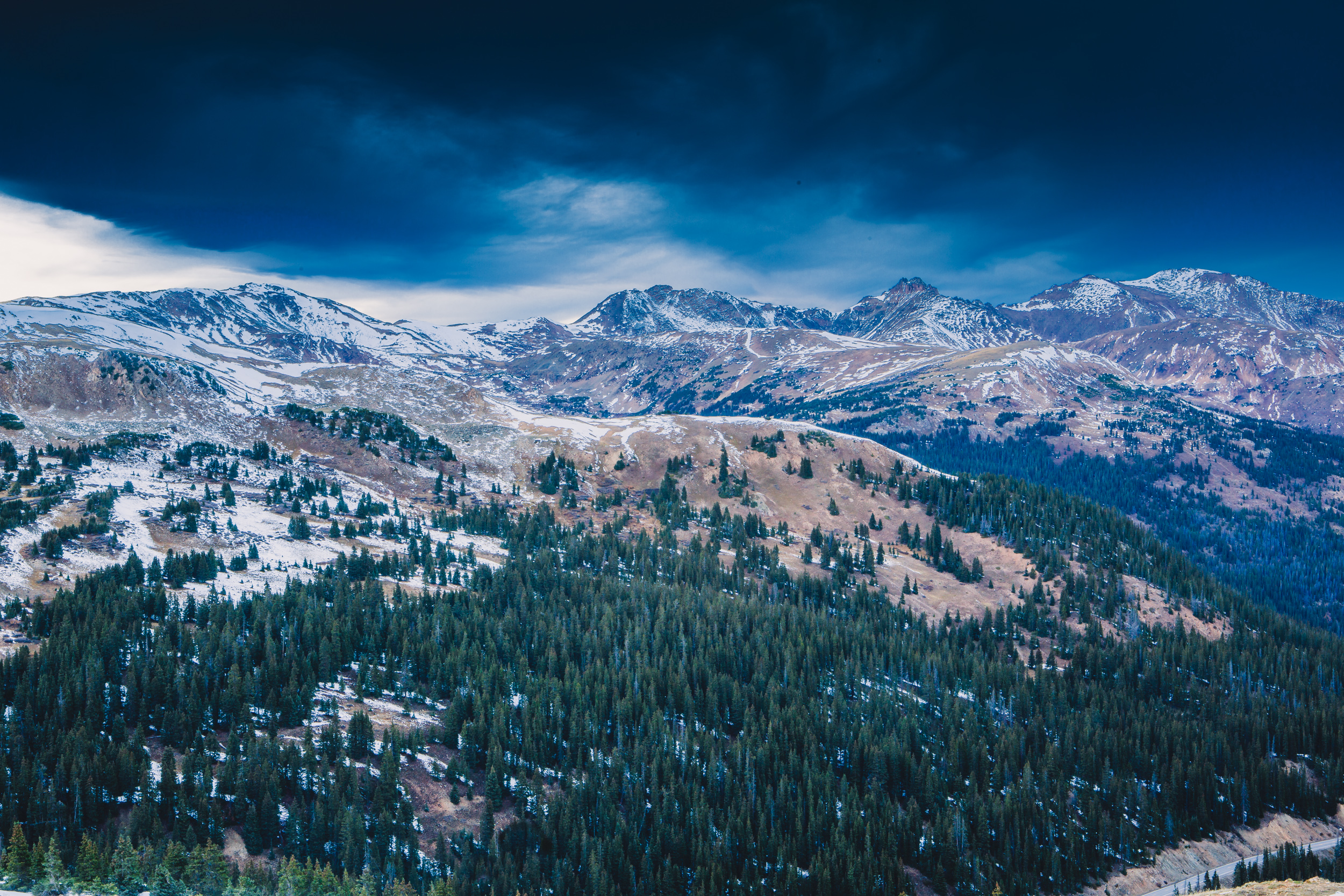 Loveland Pass Summit, Colorado