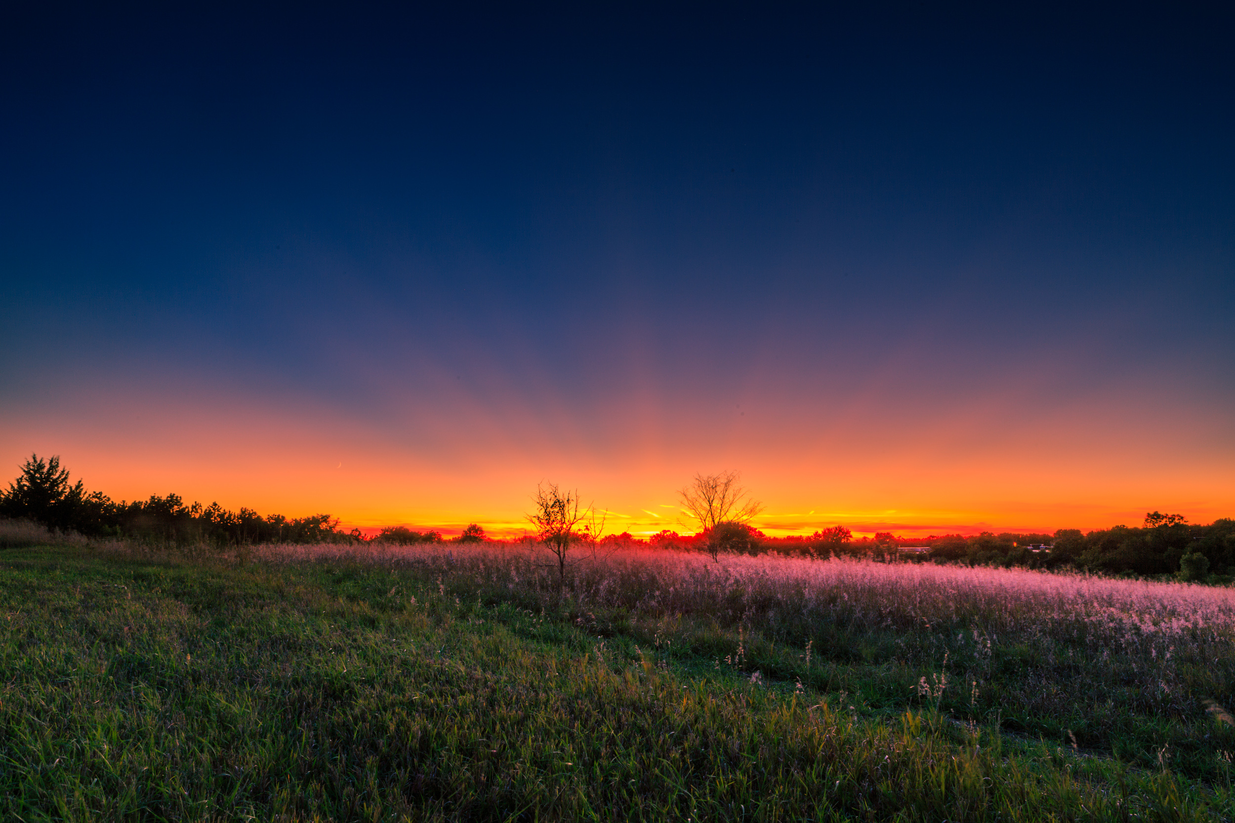 In the middle of nowhere, Lincoln, Nebraska