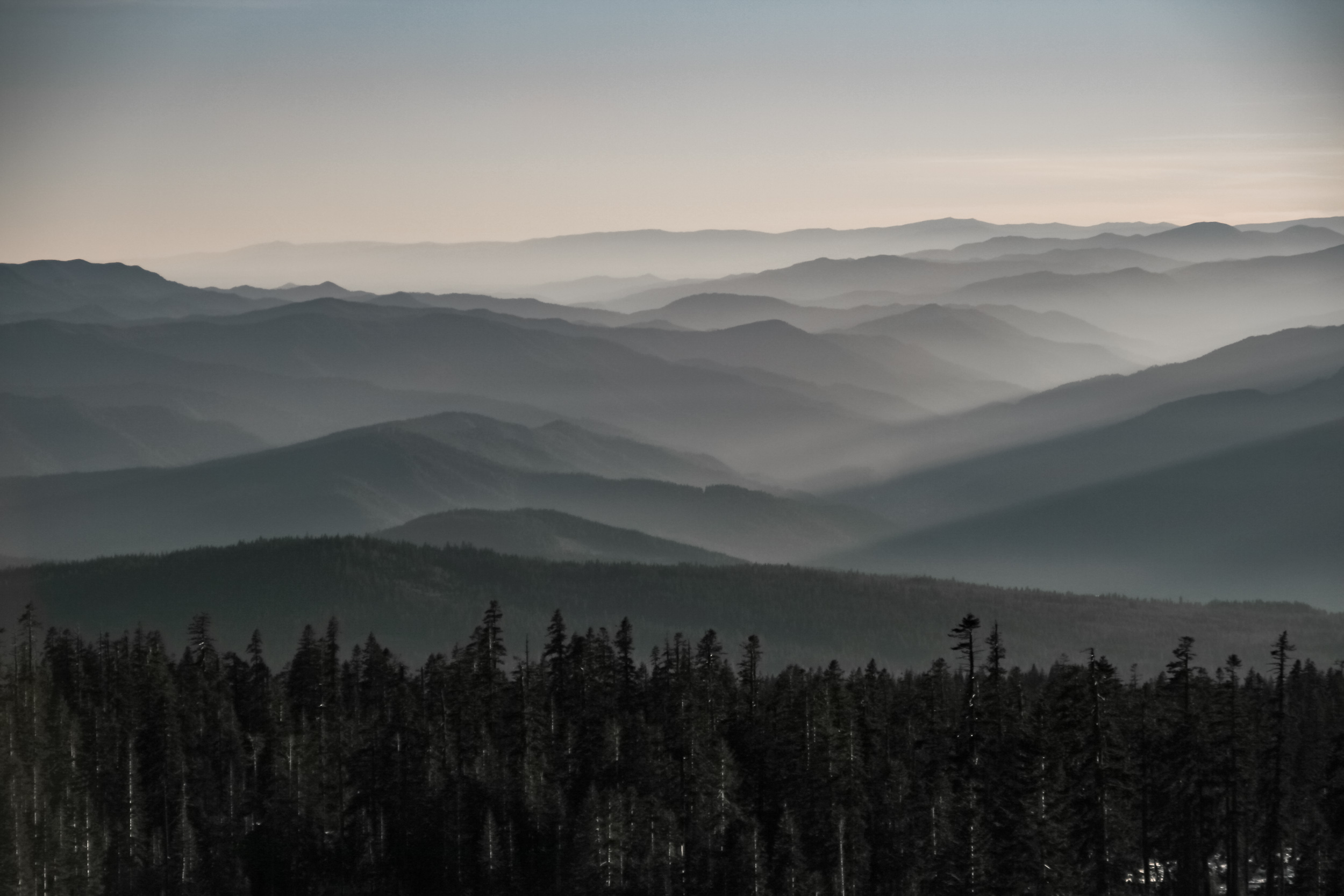 Mountain waves - view on top of Mt Shasta.jpg