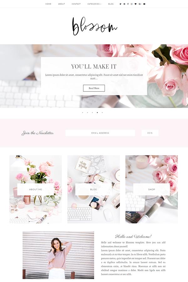 hellomanhattan_blossom_blogger_template.png