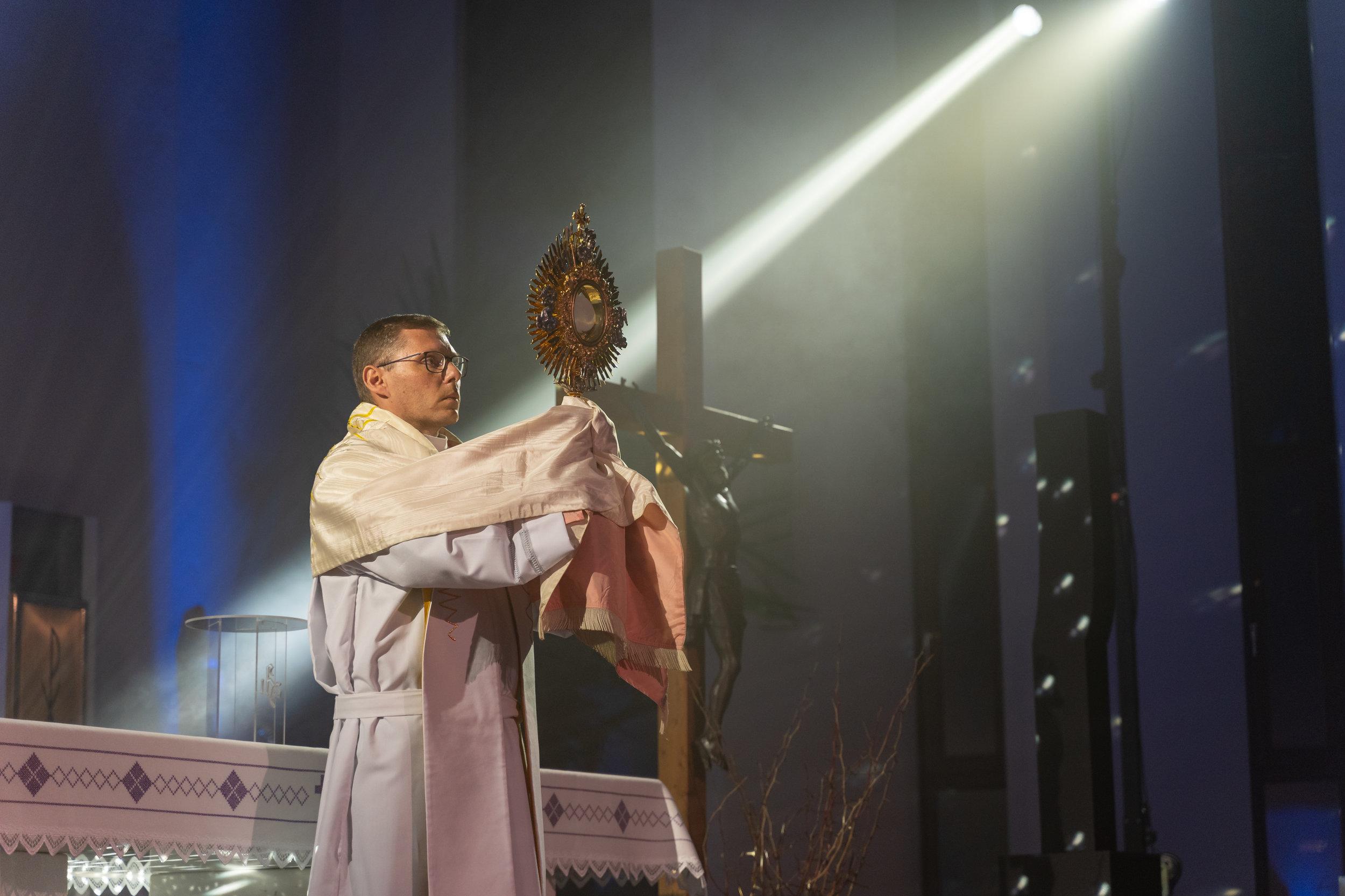 Priest Andrej Gosek.