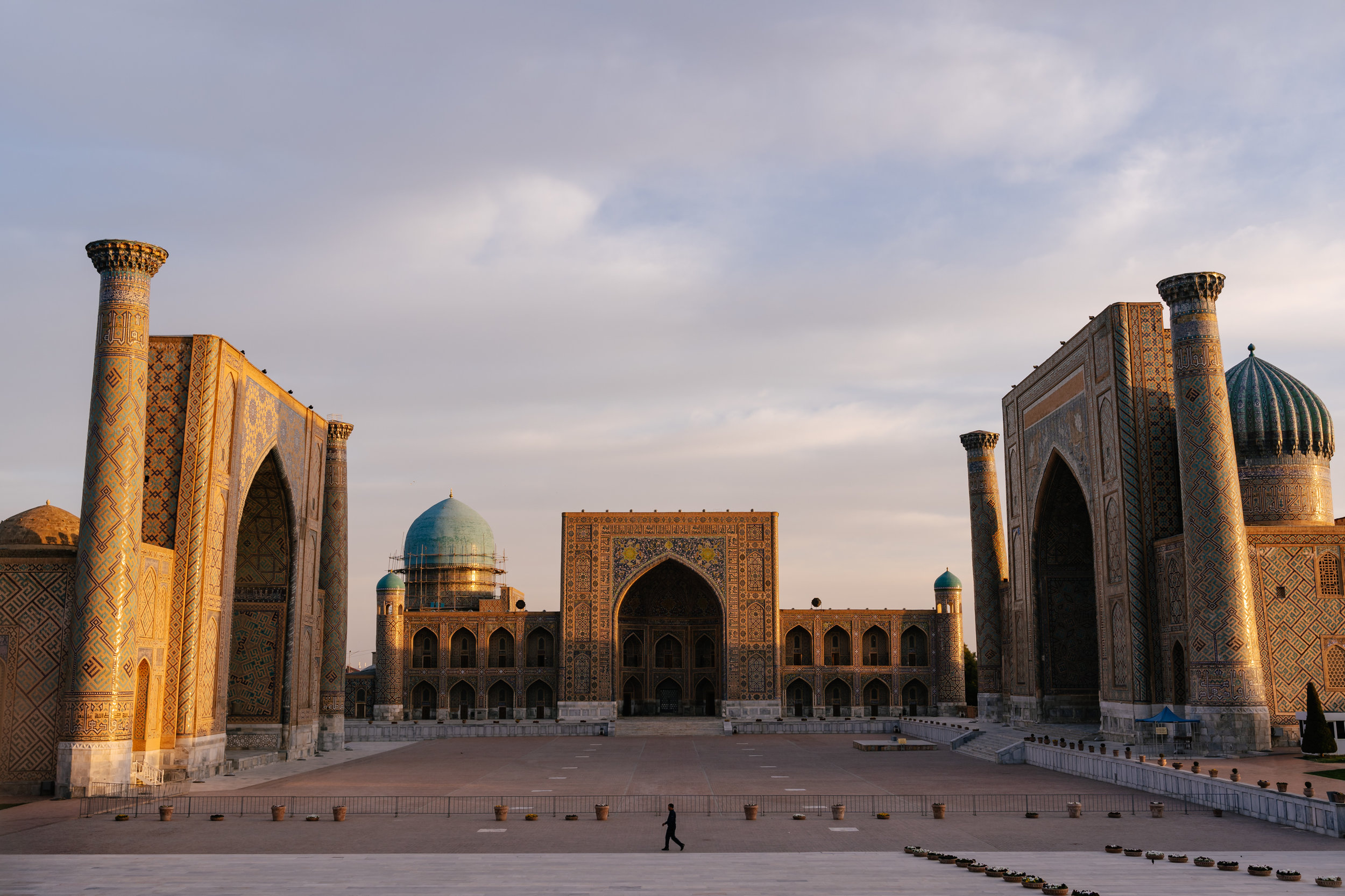 Registan at sunrise.