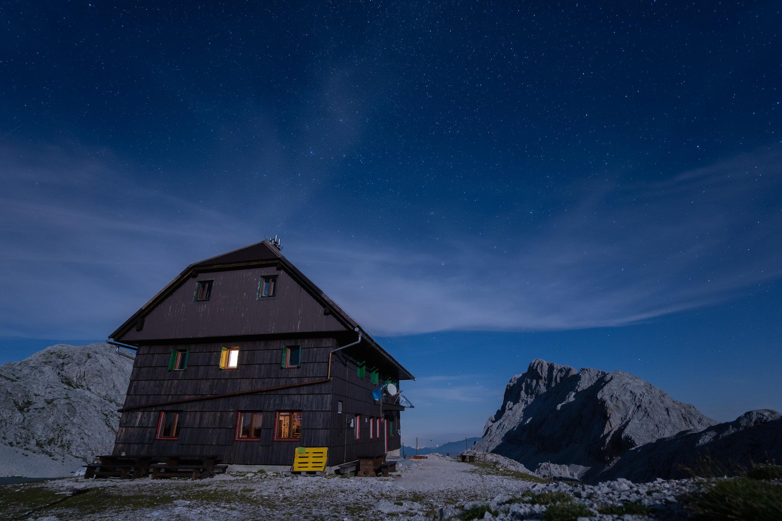 Dom Valentina Staniča mountain hut.