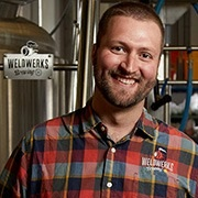 Neil Fisher - Fisher, Co-Founder, Co-Owner and Head Brewer for WeldWerks Brewing Co. in Greeley Colorado, will be celebrating five years as a professional brewer in February. Interestingly, the Big Beers Festival was one of the catalysts that prompted Fisher and his partner, Colin Jones, to move forward with a business plan. The partners have seen tremendous success in their first five years, winning numerous accolades and awards.