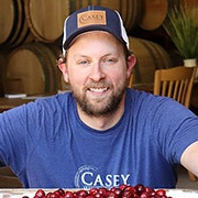 Troy Casey - Casey, Owner of Casey Brewing and Blending in Glenwood Springs, Colorado, began his brewing career at Bristol Brewing in Colorado Springs in 2005, and invested time at UC Davis as well as brewing for larger breweries before he opened Casey Brewing and Blending in 2014. Specializing in mixed culture oak fermentation and barrel aging with fruit, he has likewise been highly decorated for his brewing prowess and his beers are highly sought after.