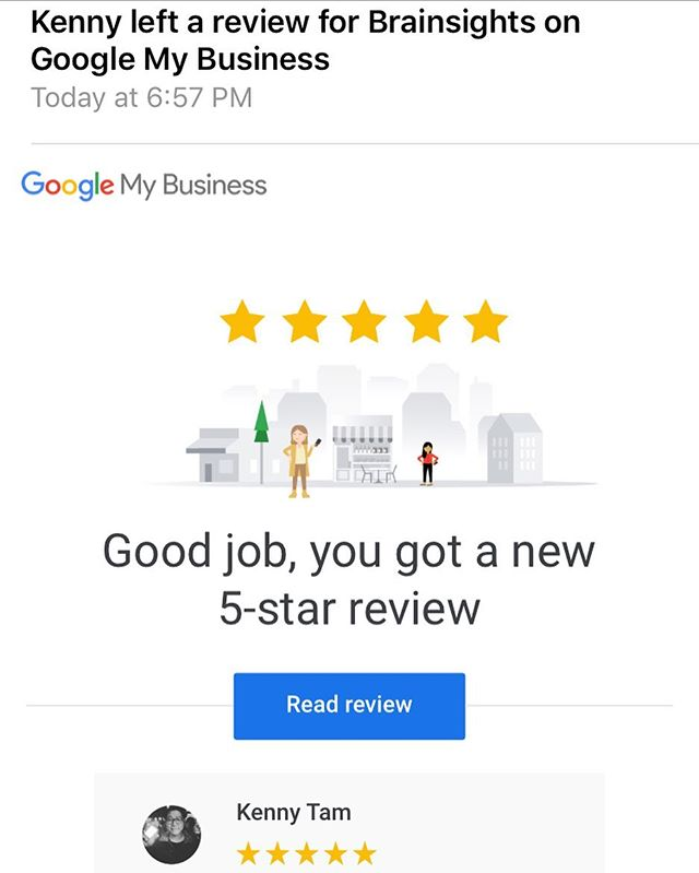Woohoo! Yay to Friday, and thanks to Kenny for the ⭐️ ⭐️ ⭐️ ⭐️ ⭐️
