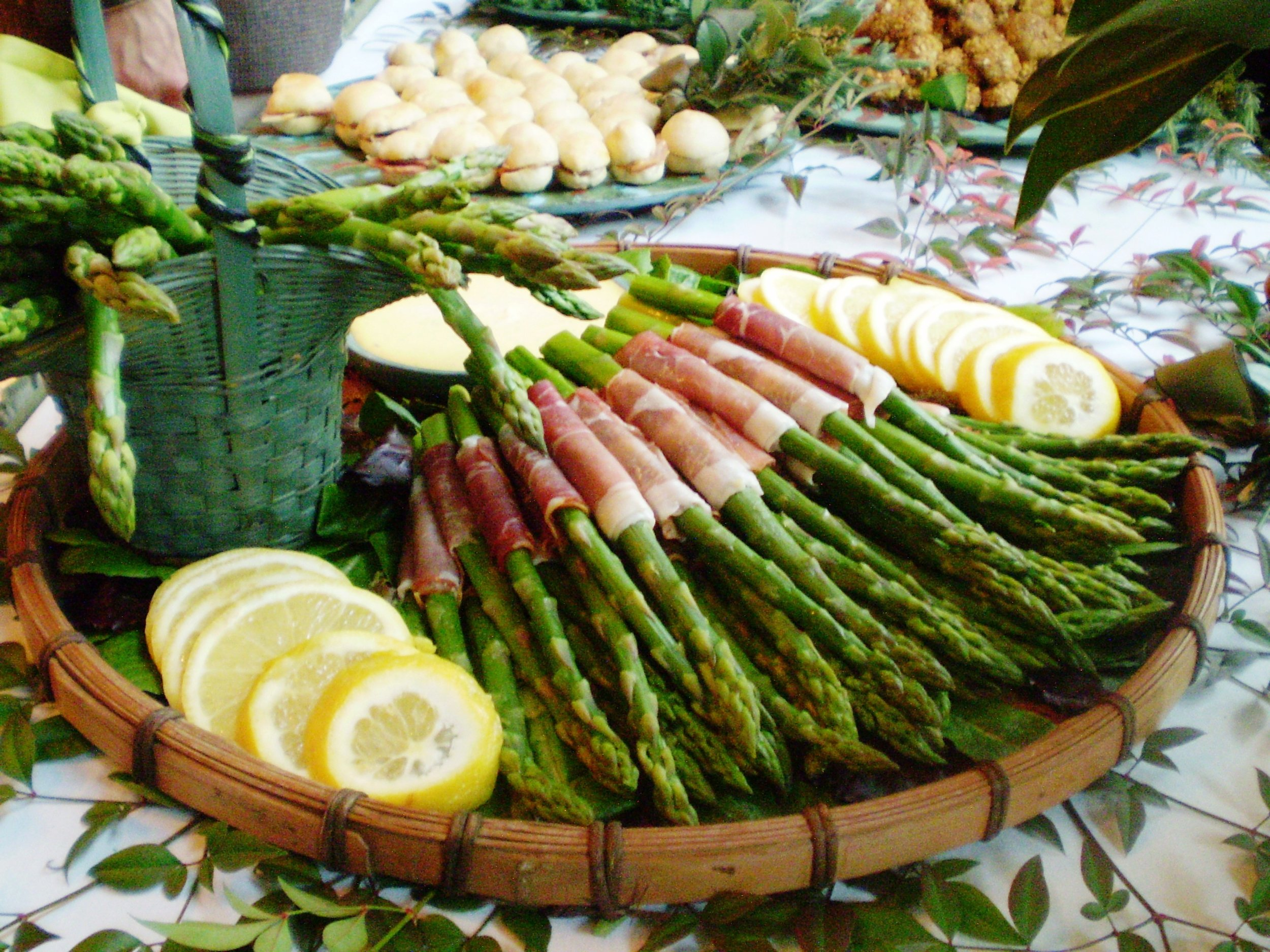 Asparagus and Proscuitto.JPG
