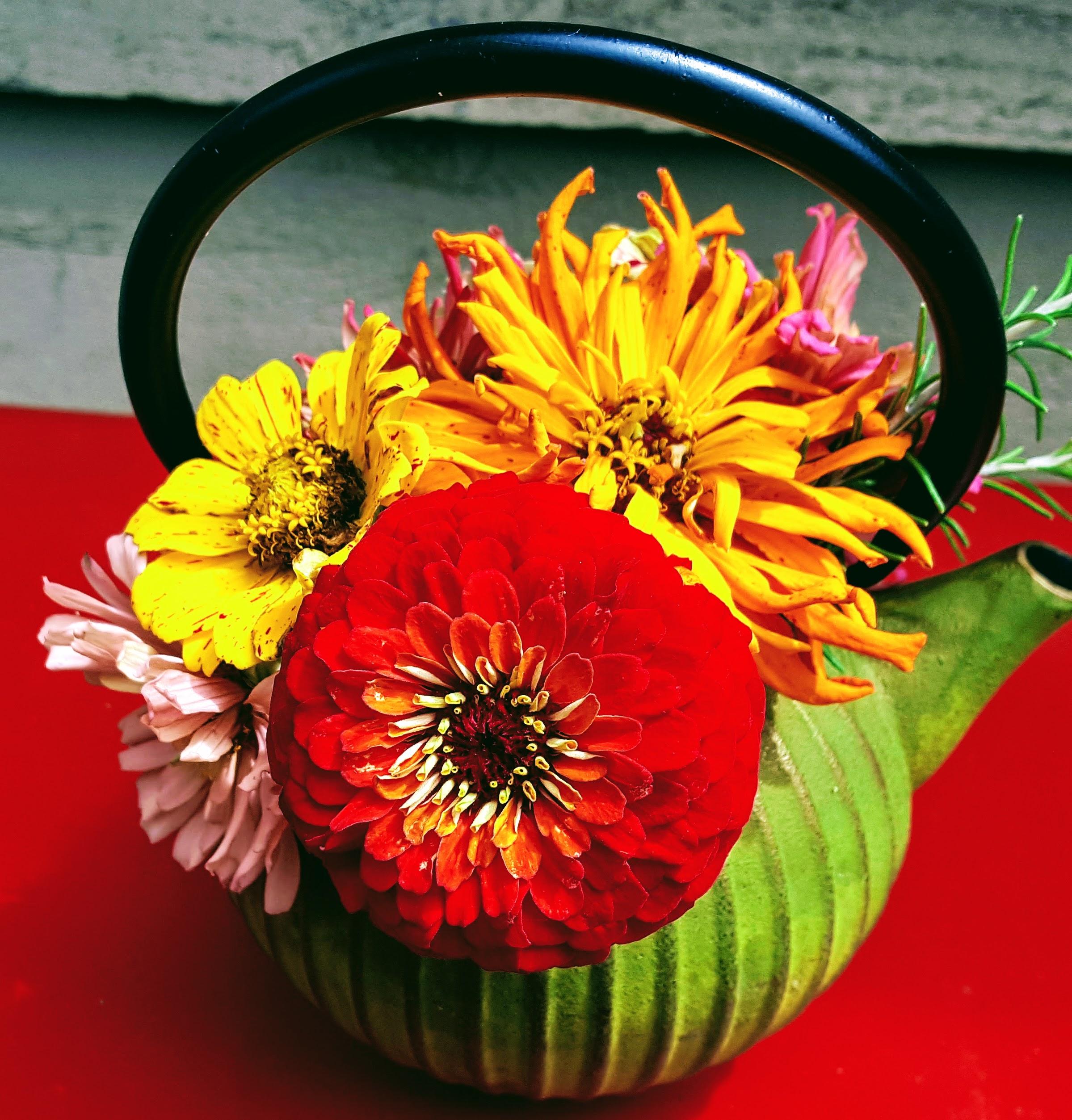 little teapot of zinnas.jpg