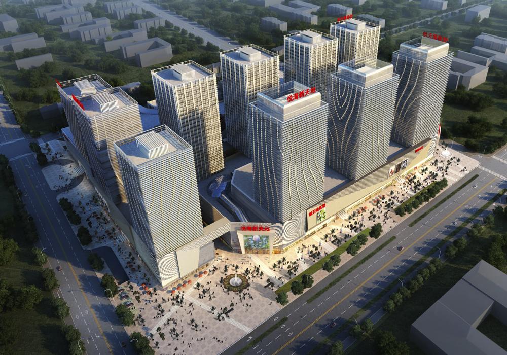 BHG Malls - Baoto, ChinaChifeng, ChinaPinggu, China