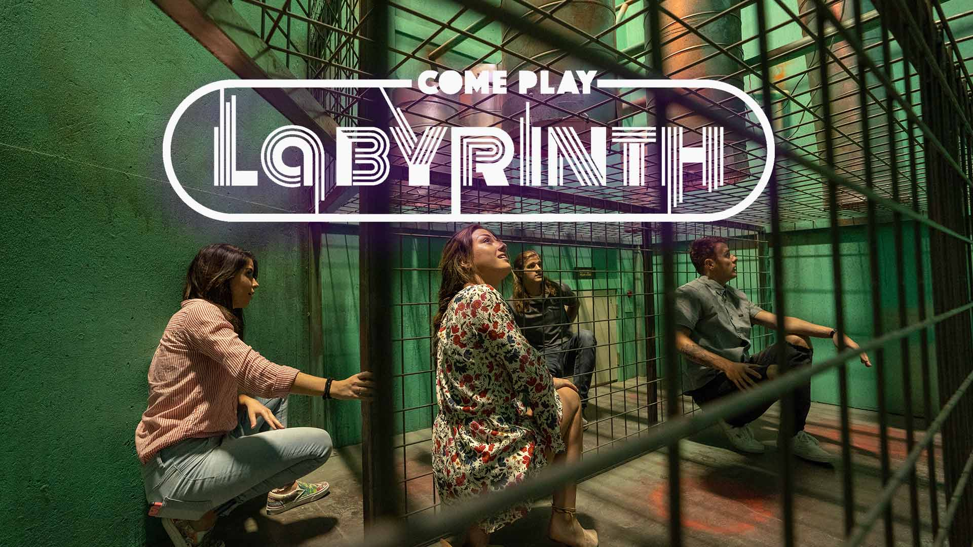 Labyrinth Reality Games - Labyrinth is an experience unlike any other. Each of our 59 mini-games, called Levels, creates a unique and engaging environment full of unfamiliar puzzles and obstacles for you and your group to solve.Learn more at Labyrinthrealitygames.com