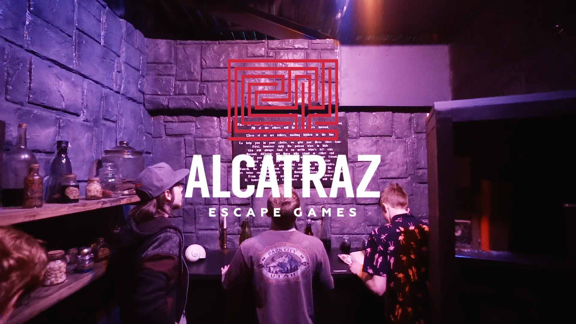 Alcatraz Escape Games - Alcatraz Escape Games delivers an immersive, cinematic experience through detailed set design, multi-dimensional storytelling and live acting. Alcatraz is Utah's #1 escape room destination for private events.Learn more at Alcatrazescapegames.com