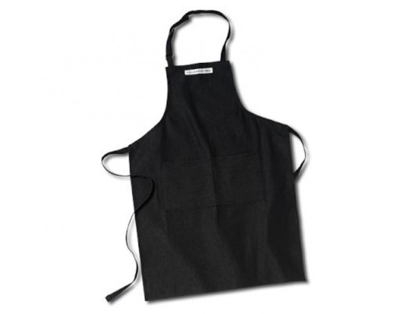 Pleetoox has aprons made from poly-twill and polyester.