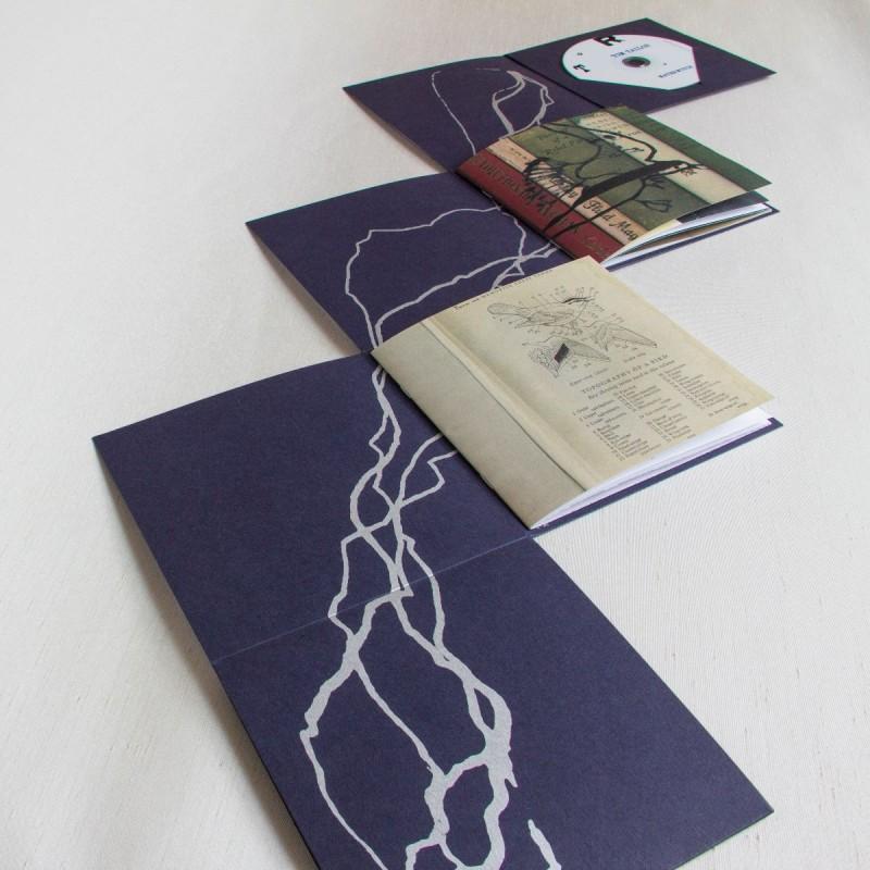 Alternative book structure - Artist's book commemorating 1916 Easter Rising centenary GPO Dublin Ireland