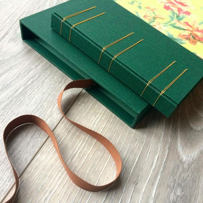 Handmade album with slipcase box Ireland