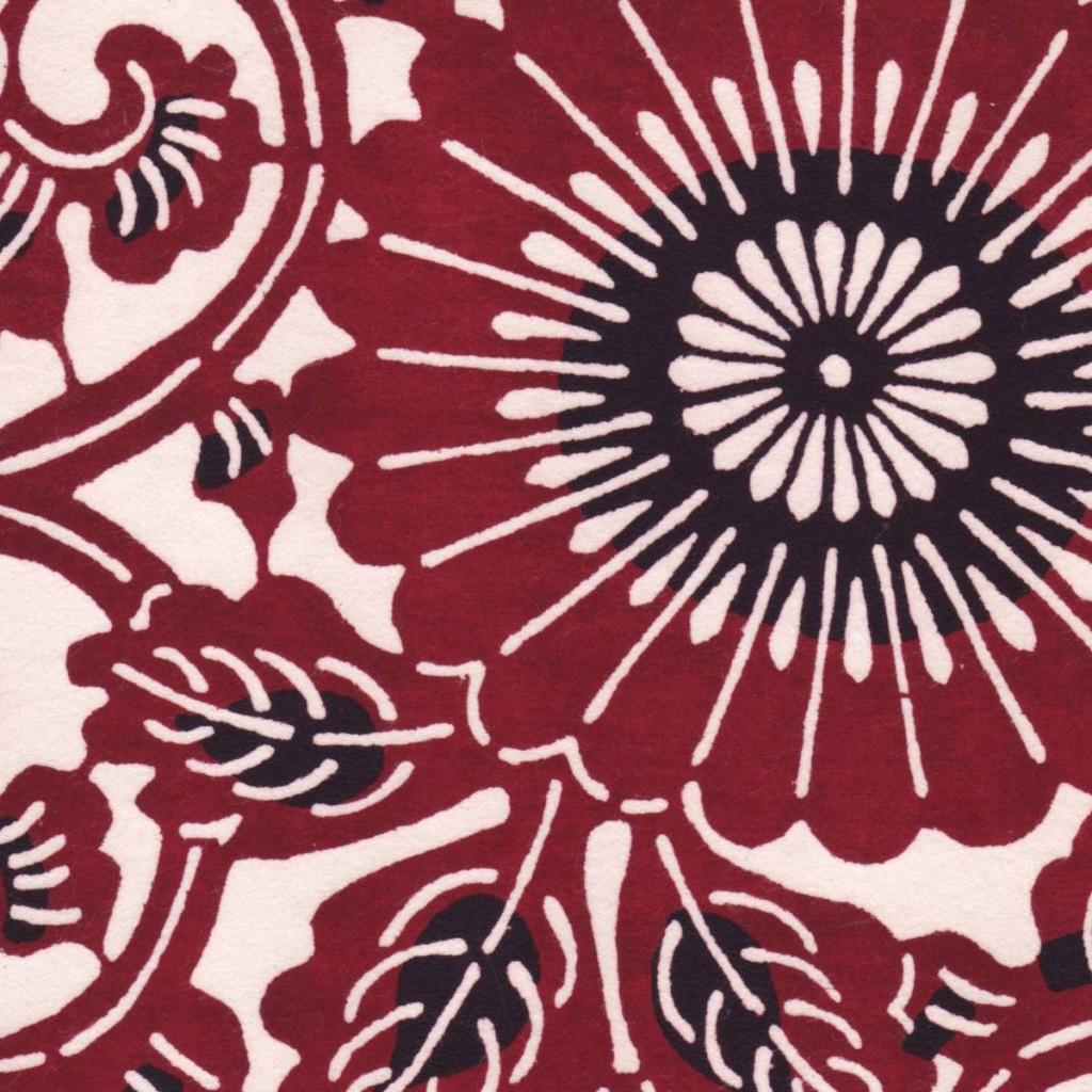 Crimson spirals