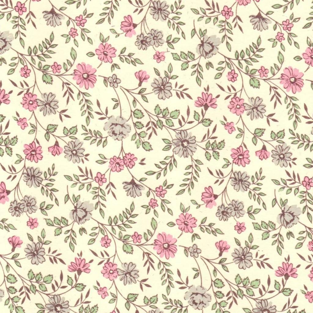 Pink grey posies