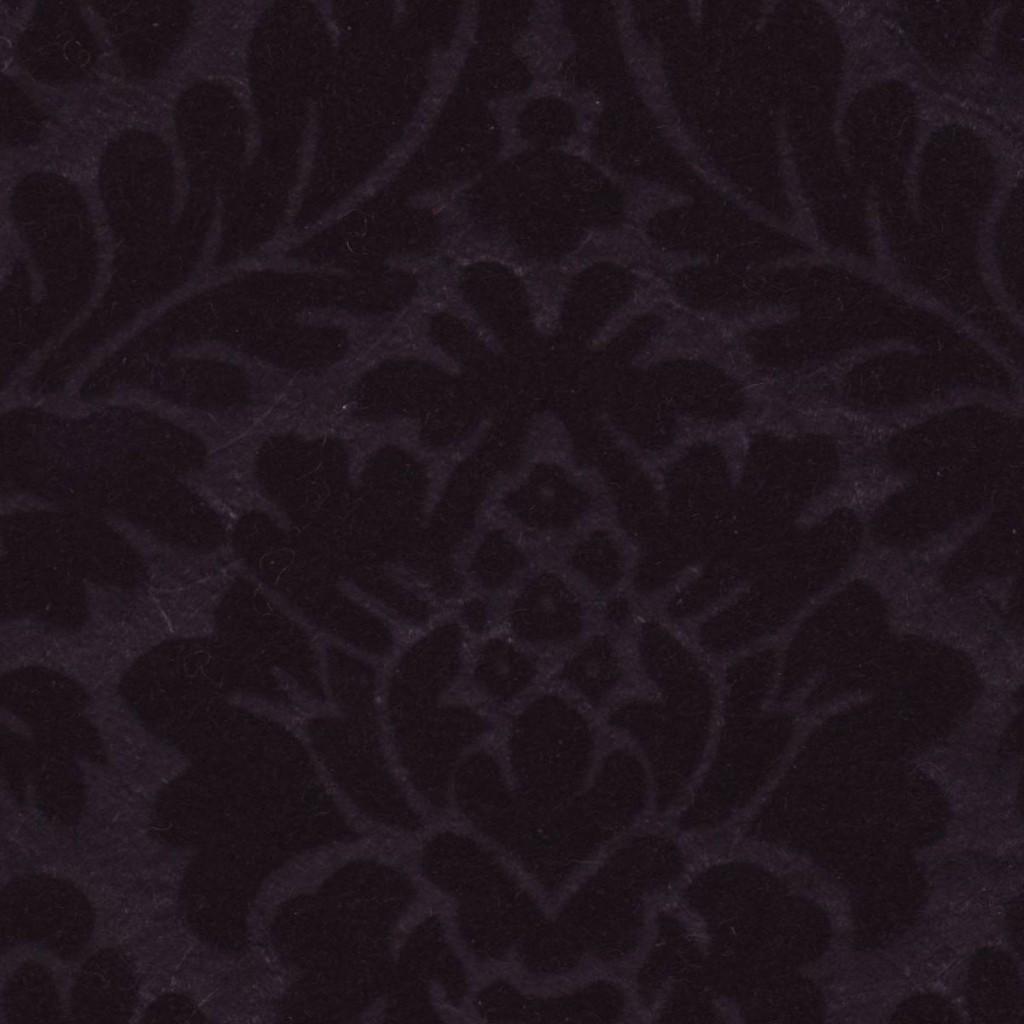 Velvet flocked paper