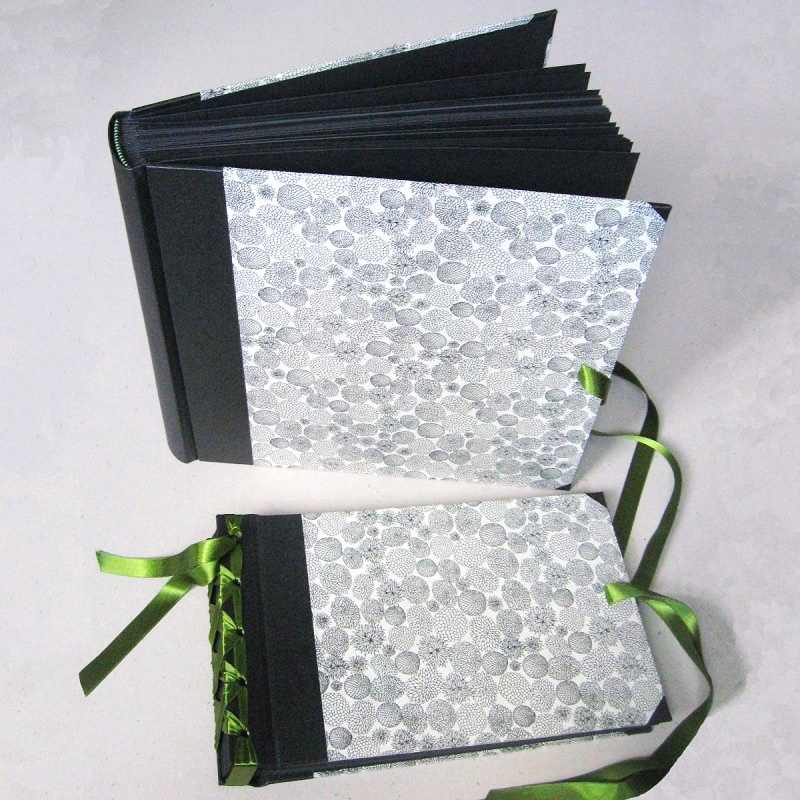 Set of personalised wedding album books made in Ireland