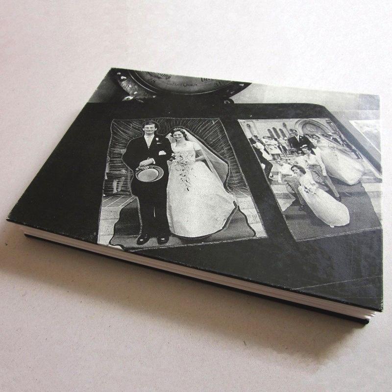 Creative handmade photo album for wedding anniversary
