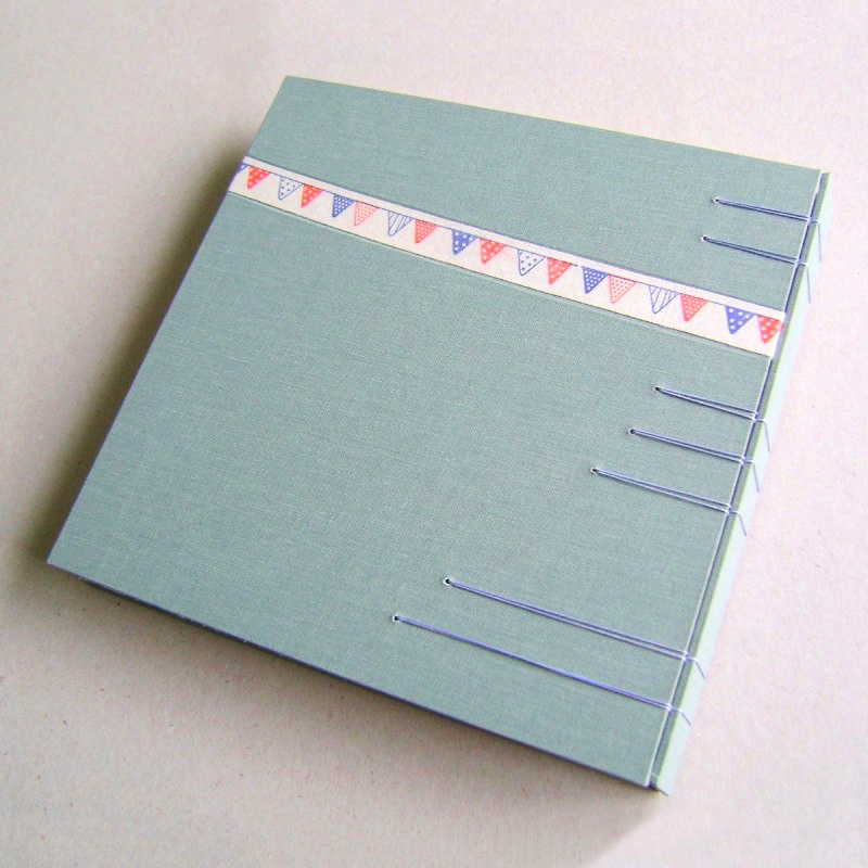 Back cover of personalised wedding guest book ideas