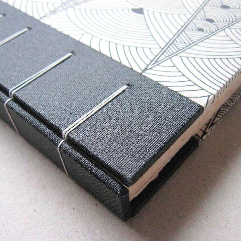 Fancy stitch ideas for album book