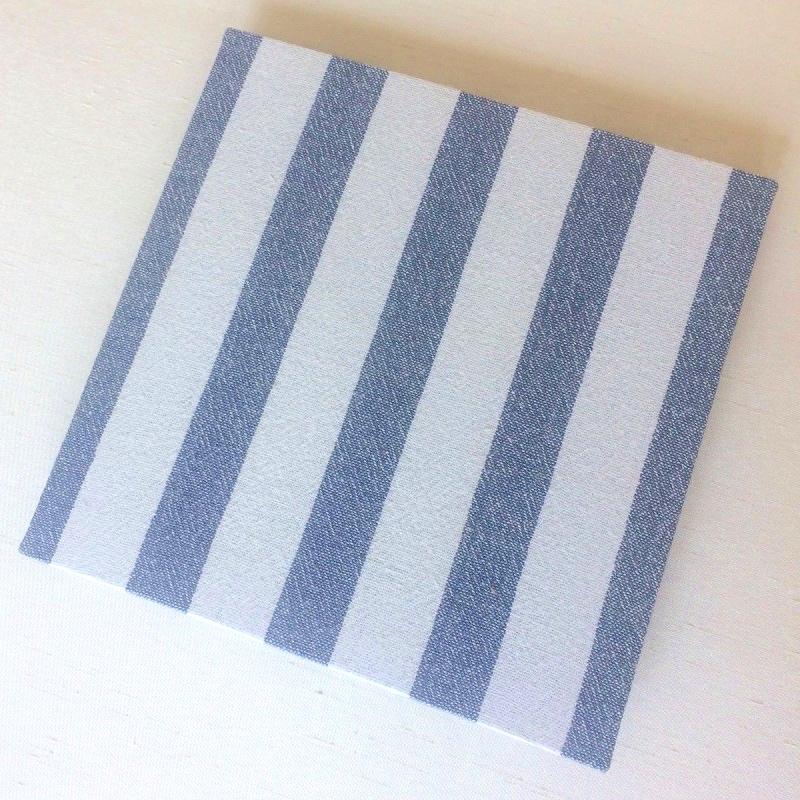 Cover of customised memory book album