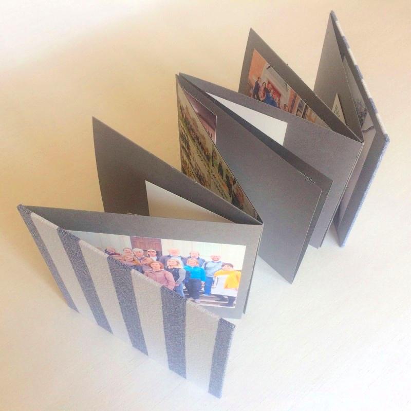 Accordion album memory book idea