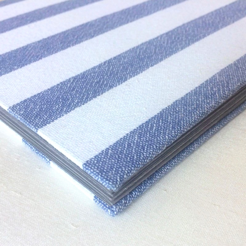 Book cloth made from special tea towel covering memory book