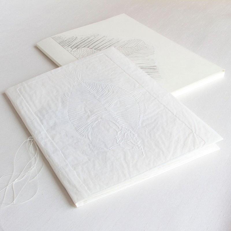 Handmade artist's book with customised slipcase cover