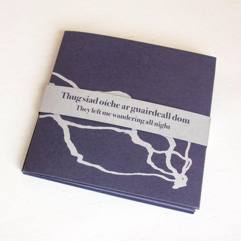 Artist's book by Alanna O'Kelly, Orla Ryan and Brian Hand
