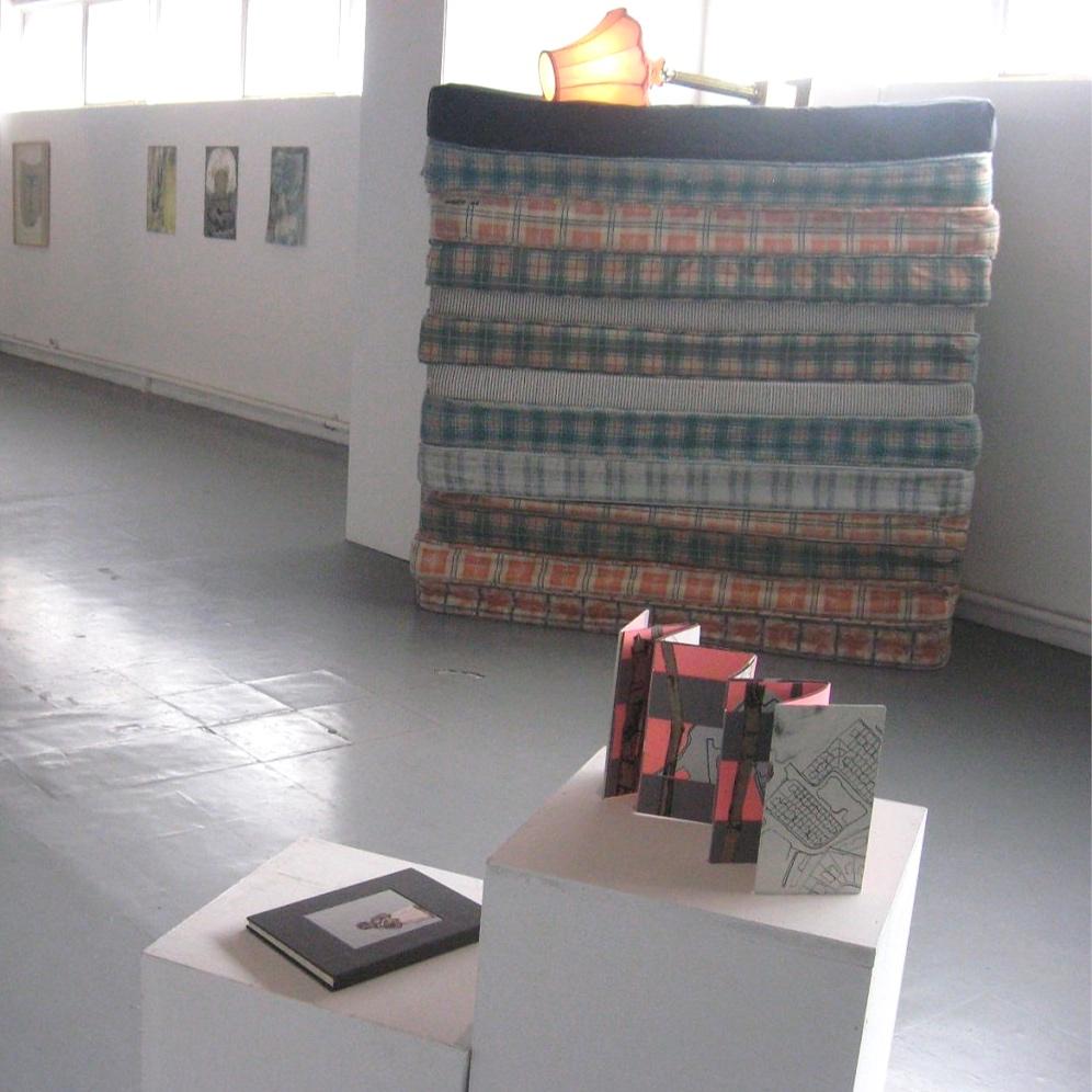 Artist's books exhibition in Dublin, Ireland