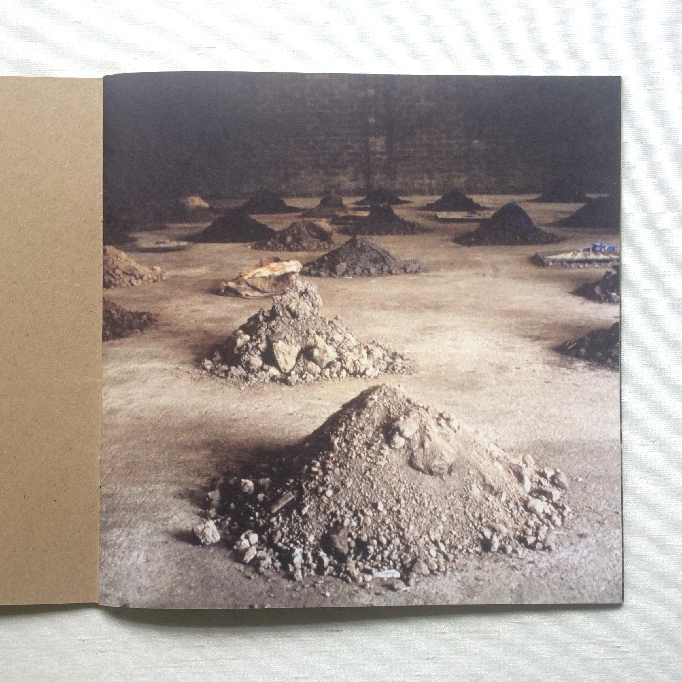 First page of artist catalogue of Irish artist Patricia McKenna installation piece