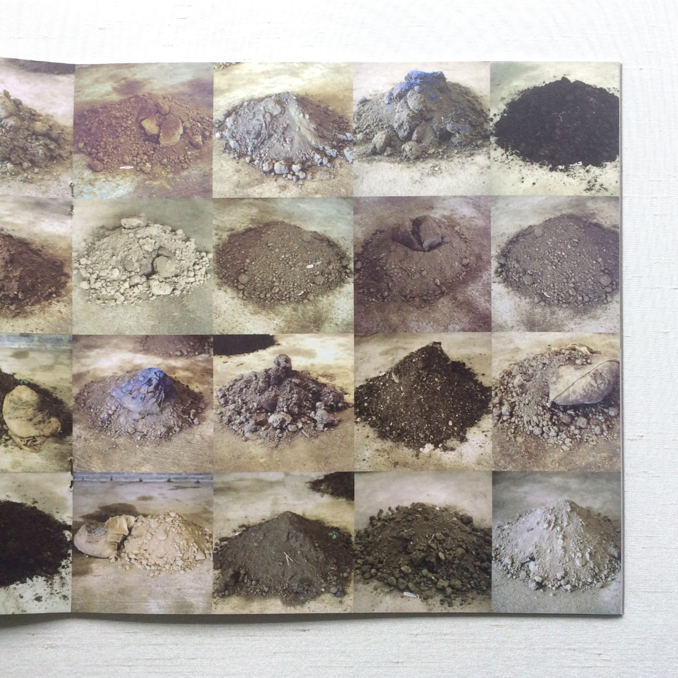 32 soils for 32 counties in Ireland - art installation by artist Patricia McKenna