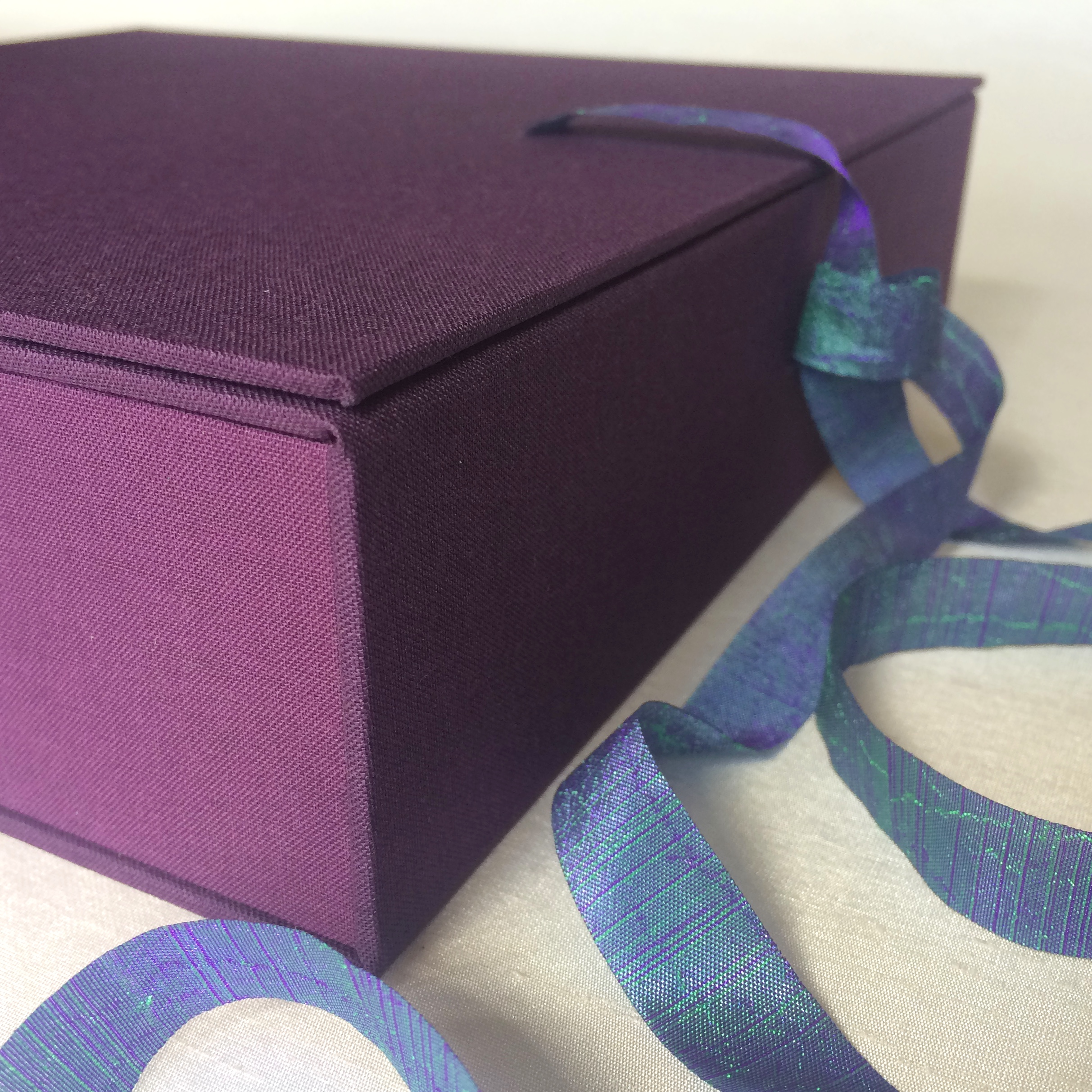 Elegant box to hold handmade photo album